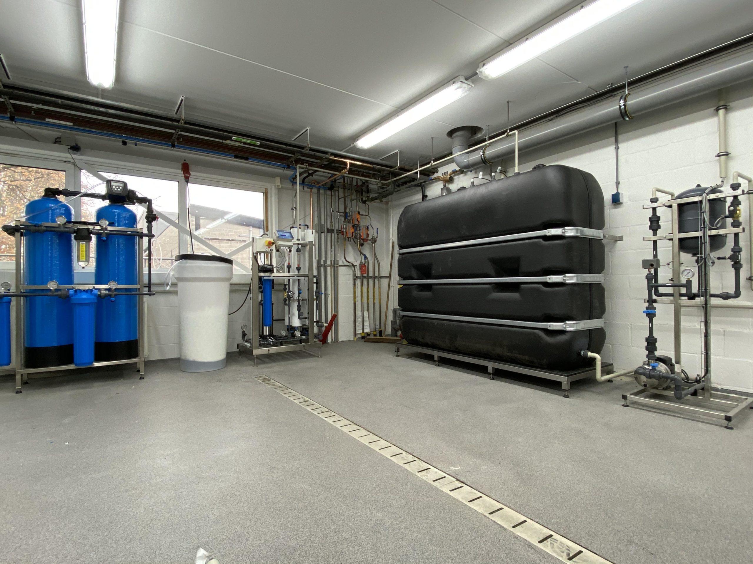 demiwater installatie