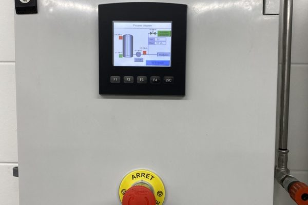 PLC met touchscreen